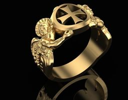 3D printable model Ring of angels