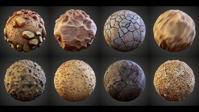Stylized Great Desert Materials