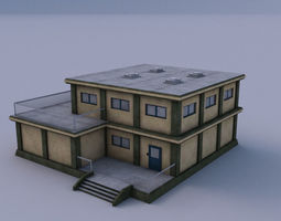 Armory 02 3D model