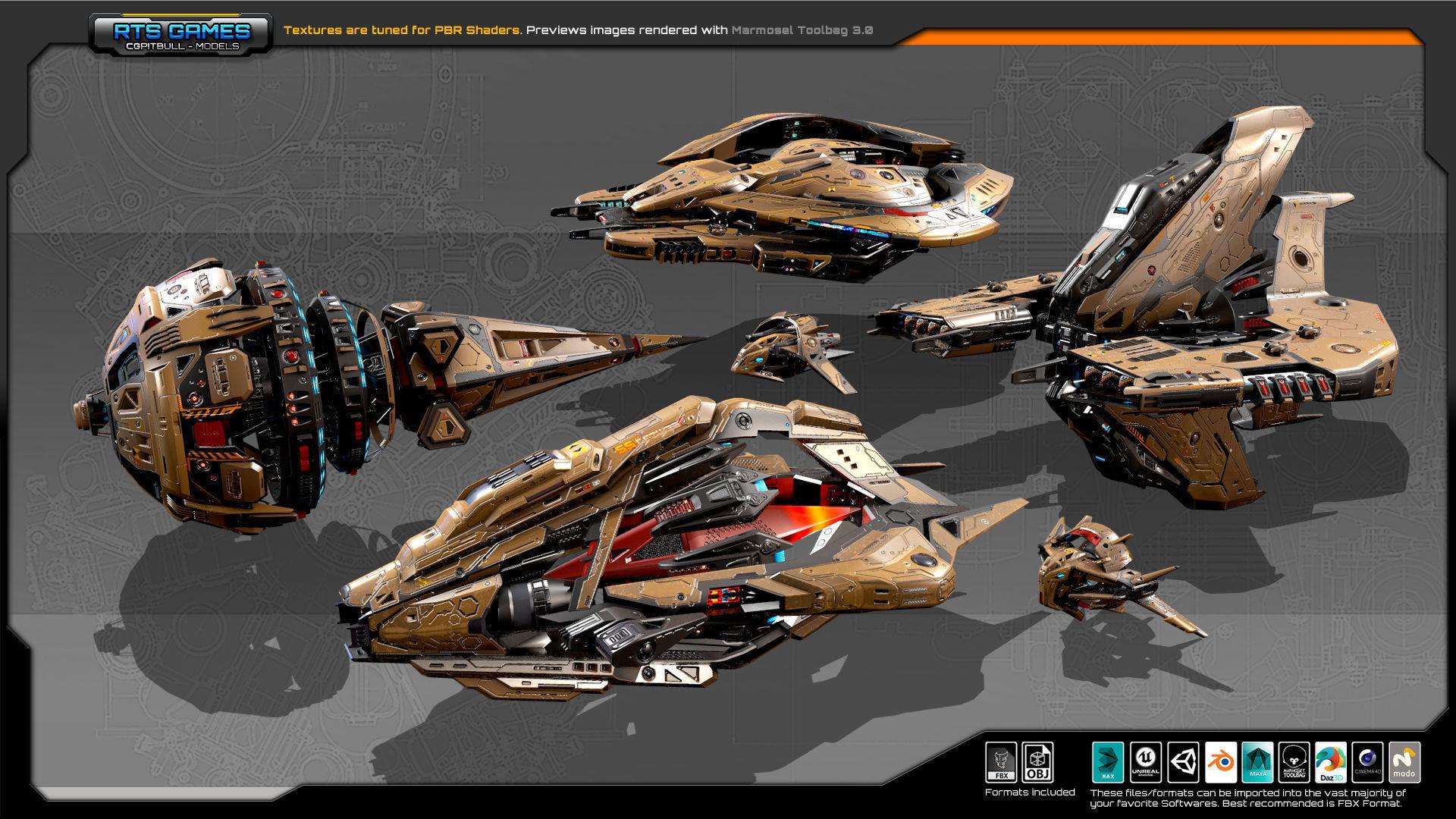 Spaceships Vol-18