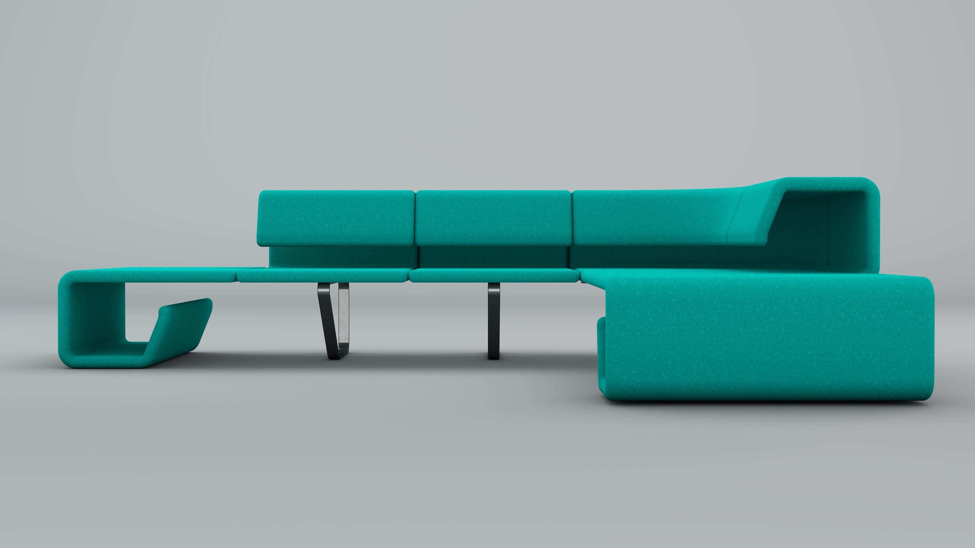 Contemporary Sofa Custom Design