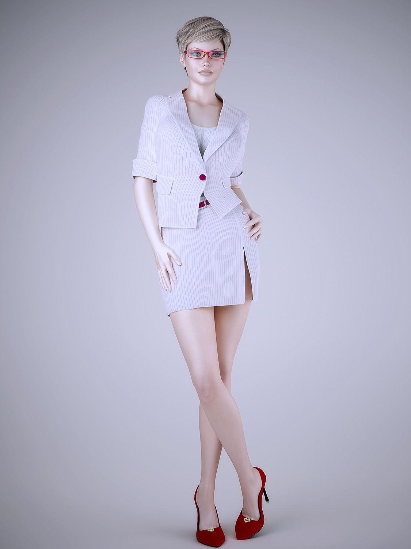 3d model sexy girl
