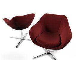 Chair Bloom Kimball 3D
