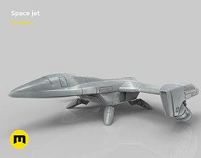 Fantasy Space Jet 3D printable model