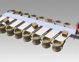 Conveyor sorter 3D model