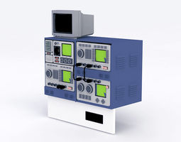 3D Oscilloscope Equipment