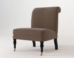 Eichholtz Berseau Chair 3D model