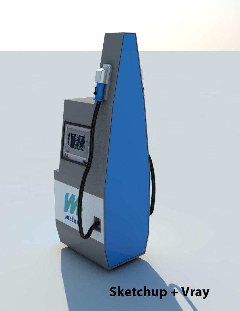 CNG Methane Fuel Dispenser