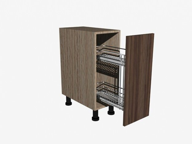 3d Kitchen Cabinet Cgtrader