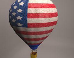 3D Hot air balloon-1