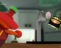 3D model Kung Food Fighters