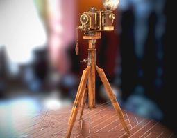 3D asset Vintage Camera