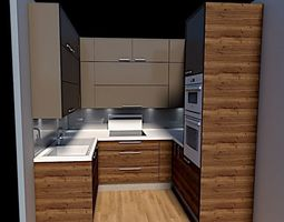 3D model damijankoprivc kitchen