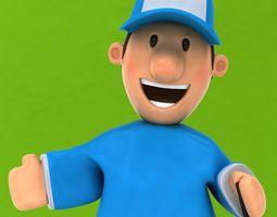 Fun Golfer 3D model