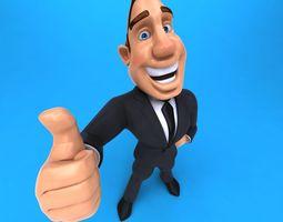 Big Business Man 3D model