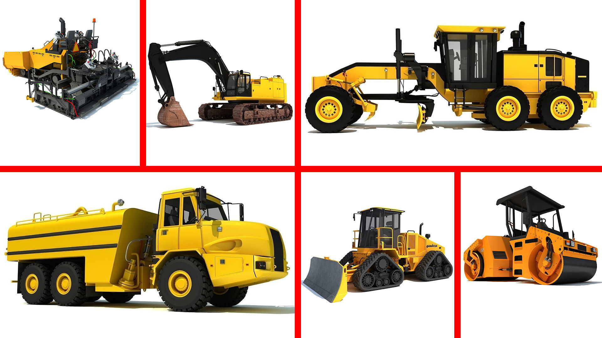 Public Works Vehicles and Machines