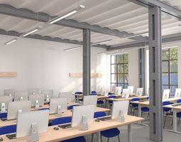 Classroom Computer 3D