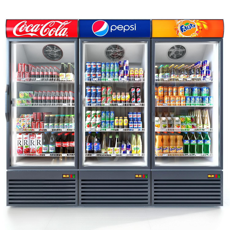 Coca-cola fridge | 3D model