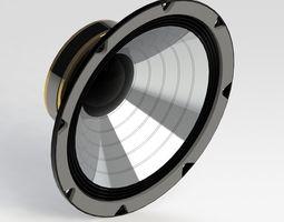 Speaker 350W 8 ohm 3D model