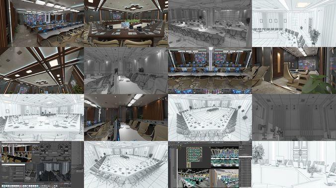 interior design collection 1 3d model max obj mtl 3ds fbx c4d dxf 1