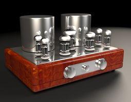 3D Vacuum tube amplifier 04 hi-fi