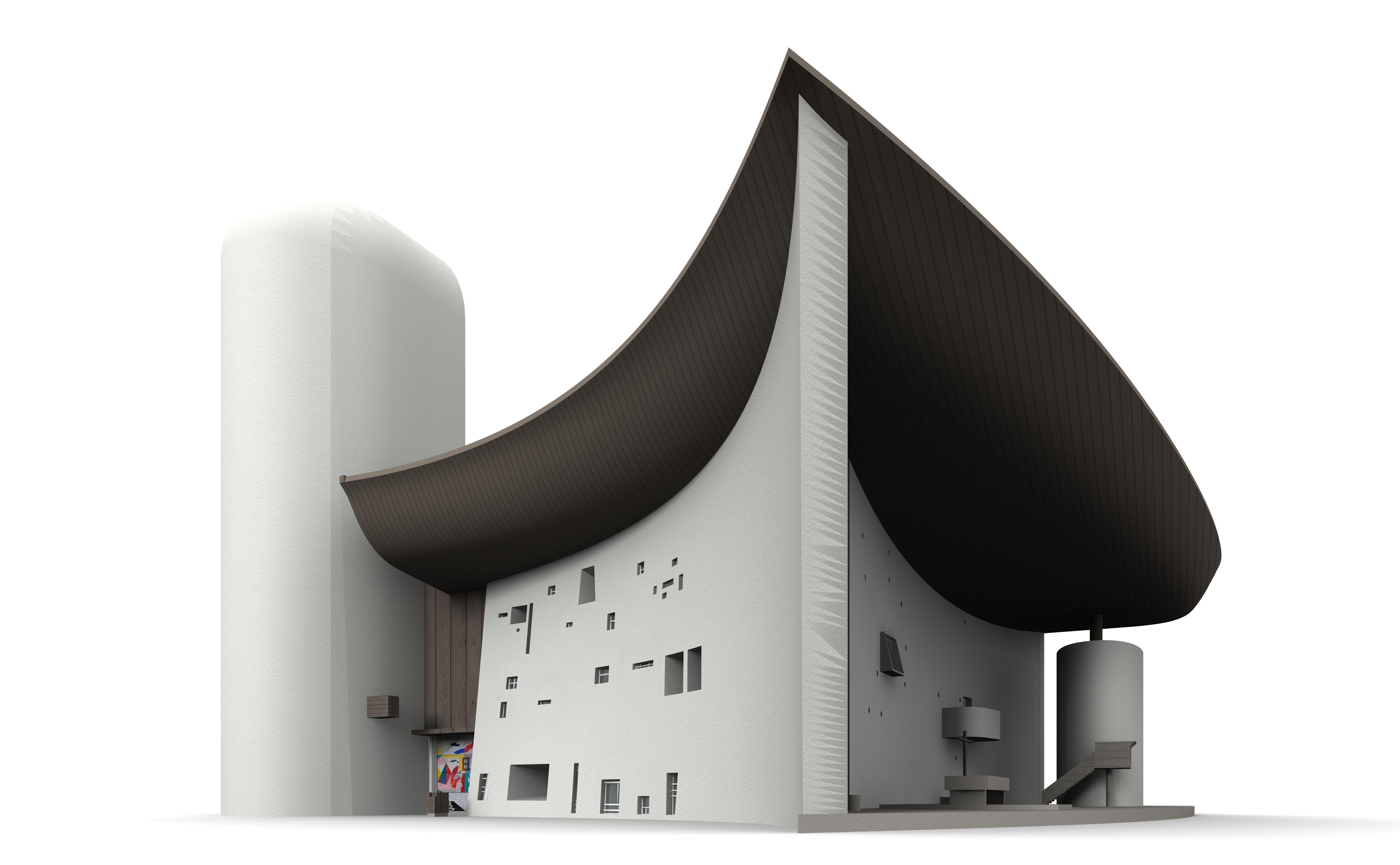 Notre Dame du Haut de Ronchamp