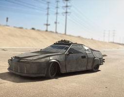 Dystopian Armored Car 3D model