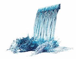 3D model Waterfall 3