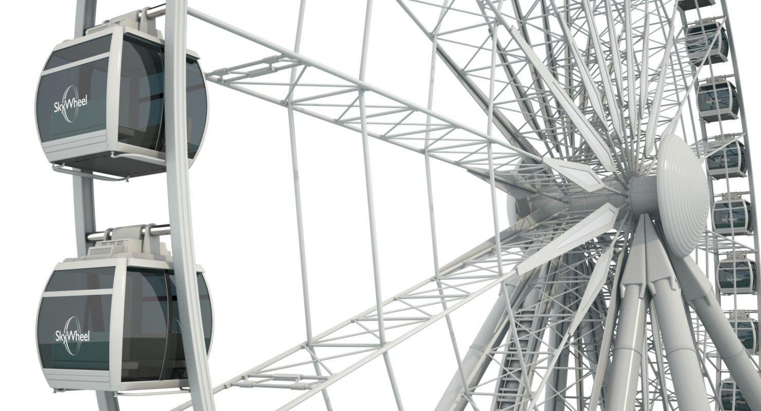 Sky Ferris Wheel Maya