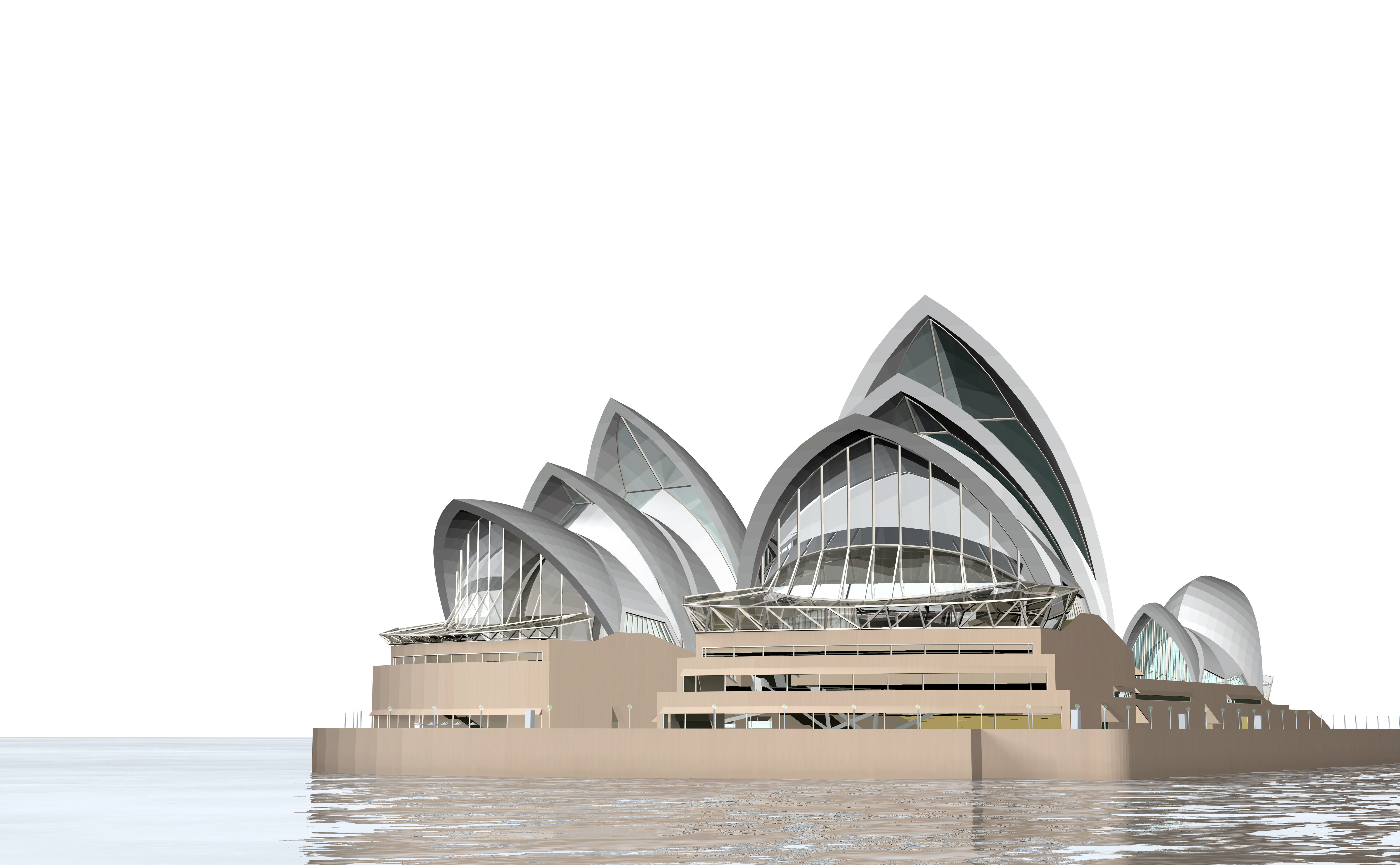 sydney opera house 3d model 3ds c4d dae skp - 19+ Sydney Opera House Picture Download  Pics