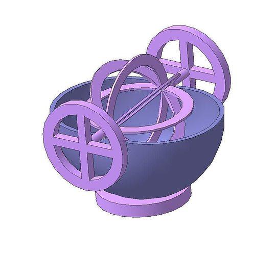 rotor 3d model stl 1