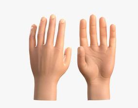 3D asset Realistic Hand Textured Model