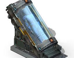 Spaceship - Indoor - Object 12 3D model