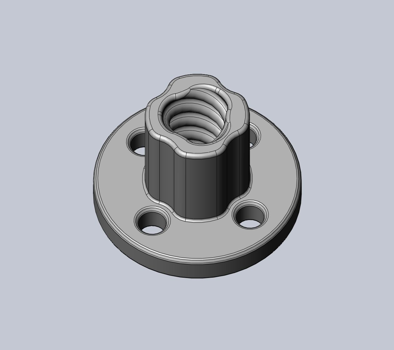 3D-Printing Optimized Leadscrew Replacement