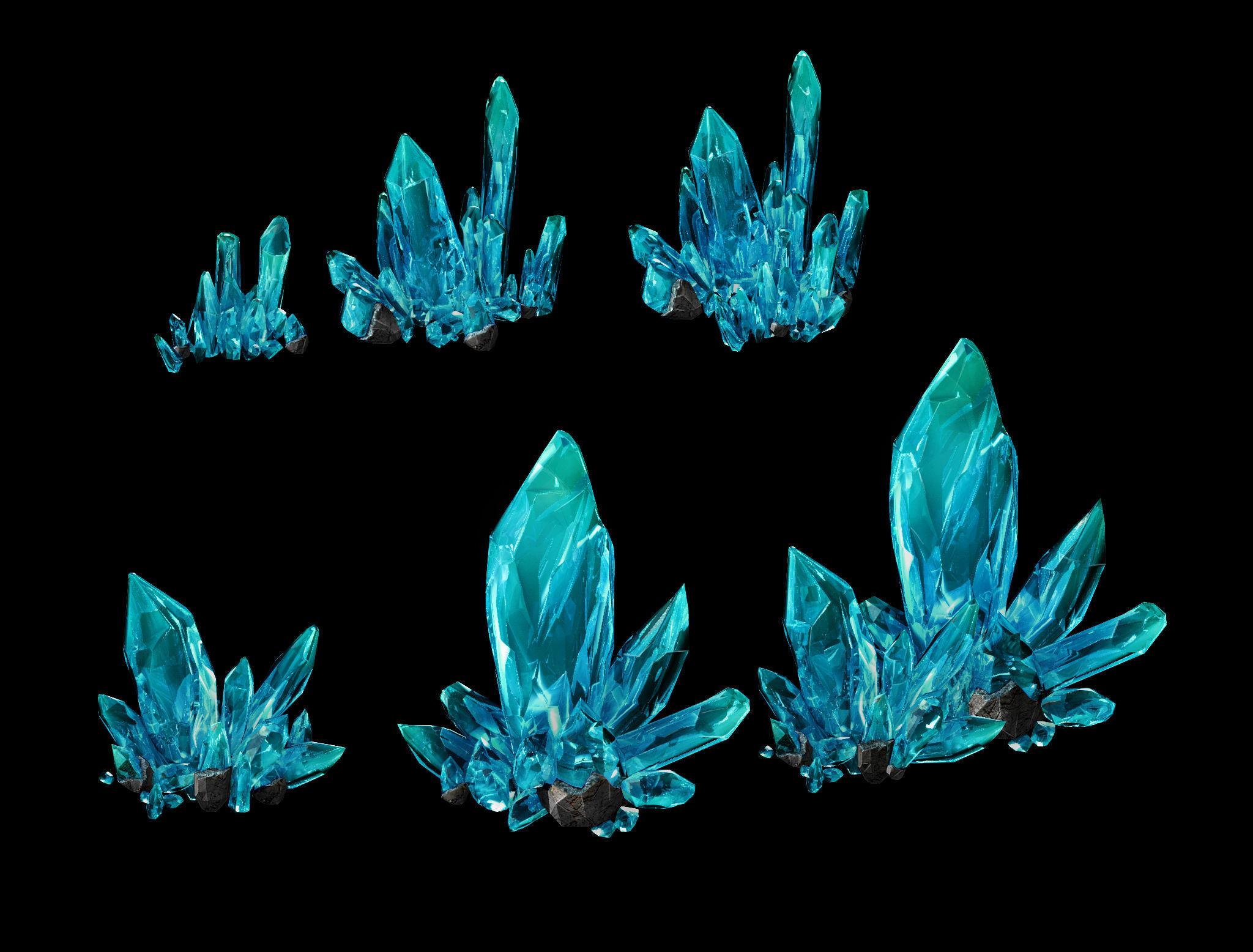 Heterogeneous crystal combination 01