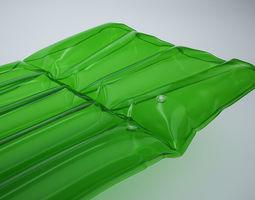 inflatable air mattress 3D model