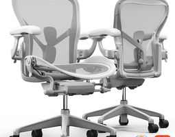 Chair Herman Miller Aeron 3D model