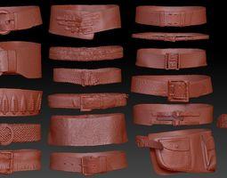 3D 19 Waist Belt Collection