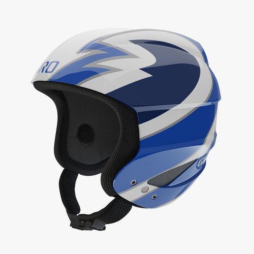 giro sestriere helmet blue 3d model max obj mtl fbx 1