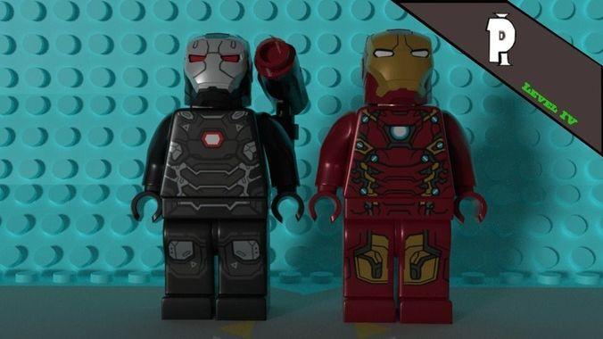 Lego iron-man 3