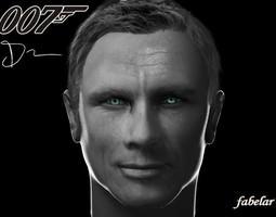 Daniel Craig 3D