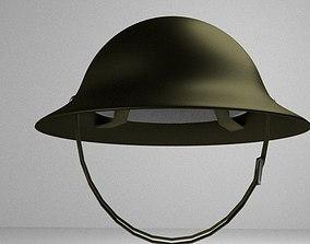 3D model Classic Combat Helmet