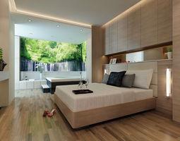 3D Models Photoreal bedroom