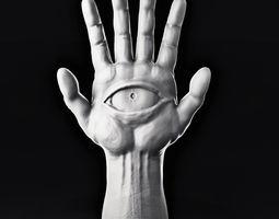 Hamsa illuminati 3D print model