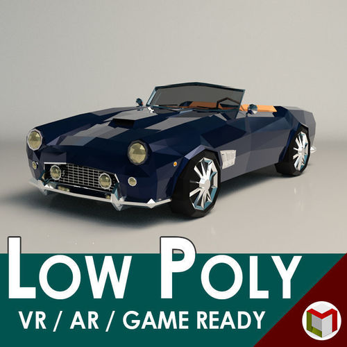Low Poly Roadster