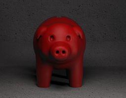 3D printable model Pig Bank