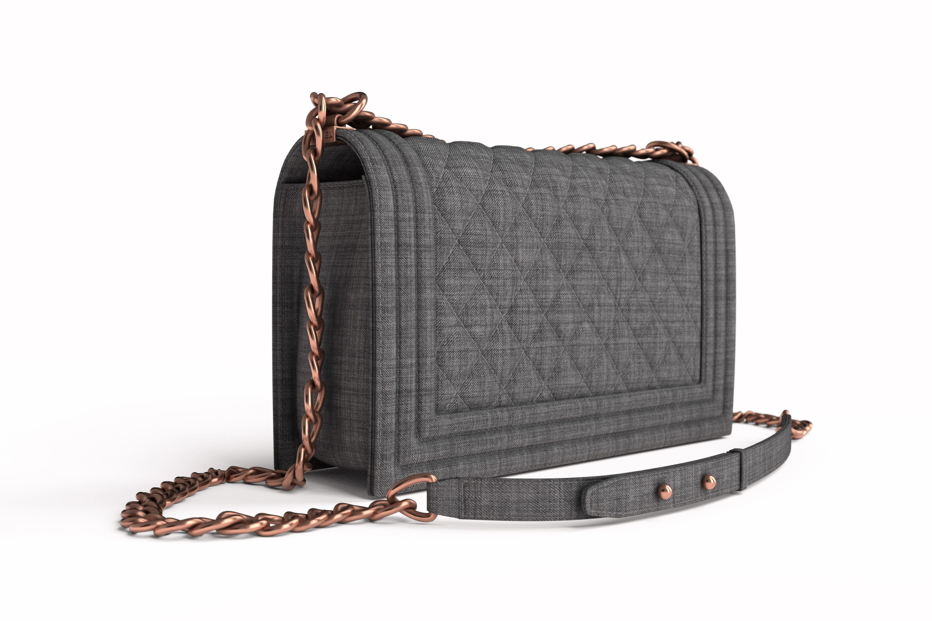 57921d1a1b98 3D model Luxury Chanel Purse | CGTrader
