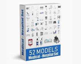 52 Models Medical Hospital Collection