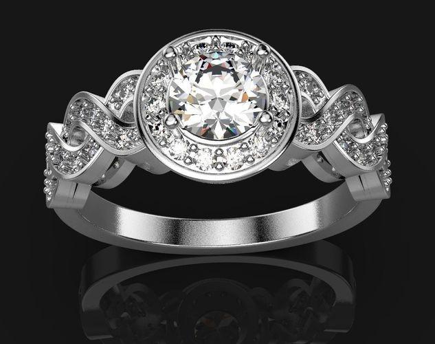 ring freee 3d model stl 3dm 1
