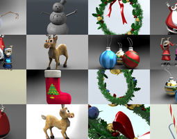 3D model Christmas Collection